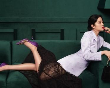 歐陽娜娜魅力演繹羅杰·維維亞2021春夏系列廣告大片