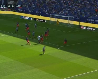 西甲比赛集锦 西班牙人vs马竞