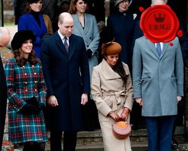 王室�L�:�P特蹲完梅�根蹲 英王室教科∴��般的屈膝�Y