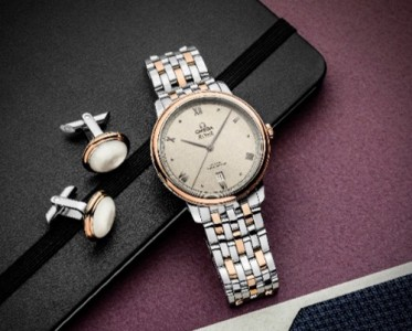 歐米茄碟飛典雅腕表表盤煥新 呈現全新的簡約經典風格