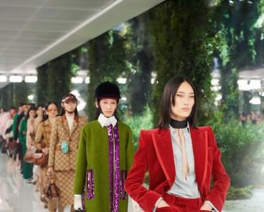 古驰于上海举办《Aria-时尚咏叹调》时装秀
