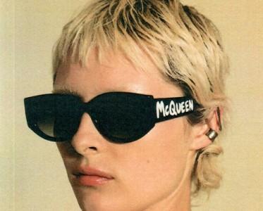 Alexander McQueen 21秋冬涂鸦眼镜系列