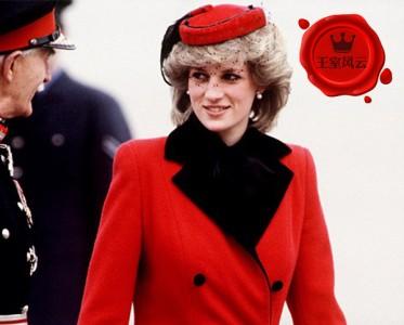 """王室风云:有种红叫""""王妃红""""她们的红色外套美爆了!"""