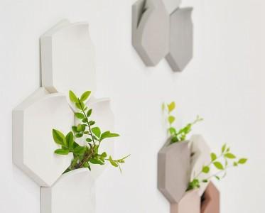 將綠植大膽種在墻上 用生機勃勃來召喚春天