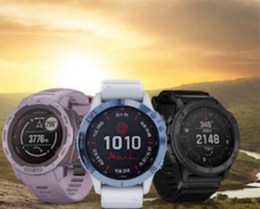 GARMIN佳明发布多款太阳能户外运动手表