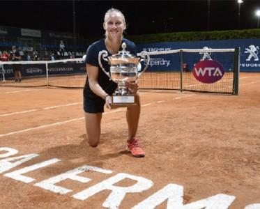 巡回赛重启首冠!费罗力克康塔维特问鼎WTA巴勒莫站