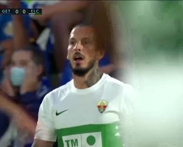 西甲比赛集锦 赫塔费0-1埃尔切