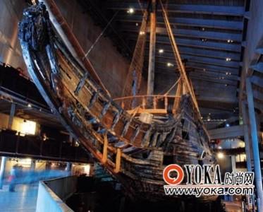 瑞典瓦萨沉船博物馆 尽显沉船之美