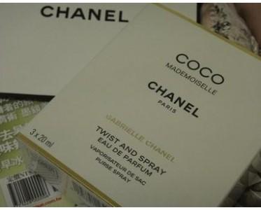 Chanel随身香 美妙の小物件