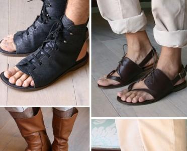 像角斗士一样威武有型 罗马鞋夏季穿起来!