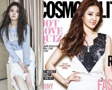 摩登美人 刘亦菲登《COSMO》韩版4月刊封面