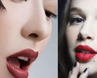 派对女王范儿 复古红唇新年妆