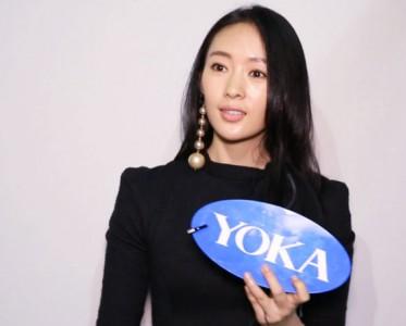 2017春夏米兰时装周 YOKA专访童瑶