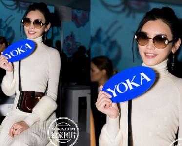 2017春夏米兰时装周菲拉格慕秀场YOKA时尚网专访奚梦瑶