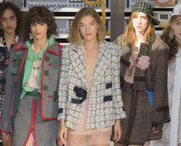 巴黎2017春夏时装周:Chanel