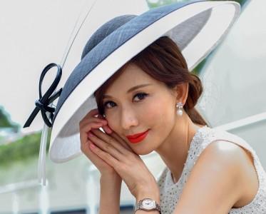 林志玲婚后首都亮相 妆容精致优雅得体
