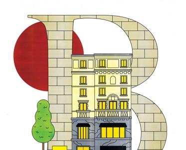 Bally A-Z字母插画集 开启瑞士传承灵感之旅