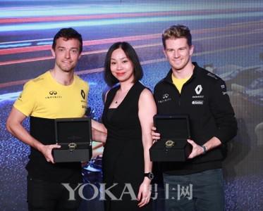 柏莱士助阵雷诺车队征战2017 F1喜力中国大奖赛