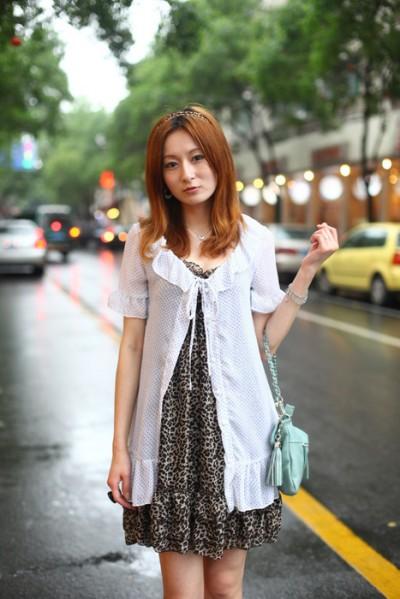 街头放大镜 上海美女究竟穿什么