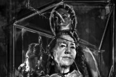 神秘的东方文化驱使着探知者们上下求索来自奥地利的艺术家Anita Gratzer带着对东方文化的渴望,多次造访东南亚。她的作品不能单纯的被