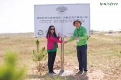 源于自然并回馈自然,innisfree是一个心系环保及绿色公益的品牌,自2012年登陆中国至今,已经连续6年积极参与上海根与芽发