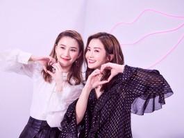 何超莲和蔡卓妍出镜 YSL美妆大片默契满满